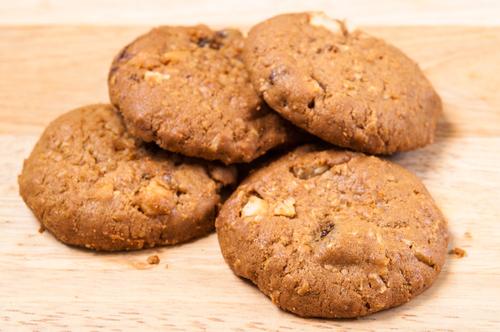 receta galletas avena microondas