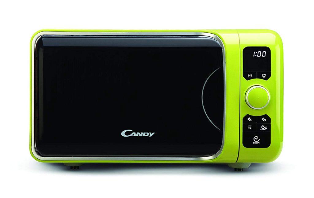 candy ego trendy - microondas 25 l color verde
