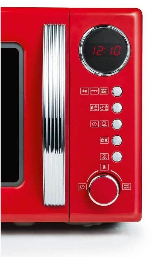 microondas severin rojo con grill opiniones